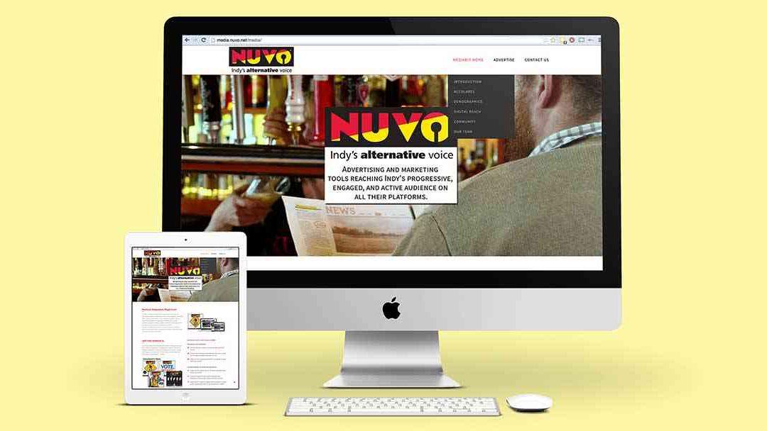 NUVO SALES WEBSITE